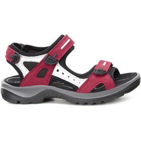 ECCO Offroad Sandalen Dames, chili red/concrete/black